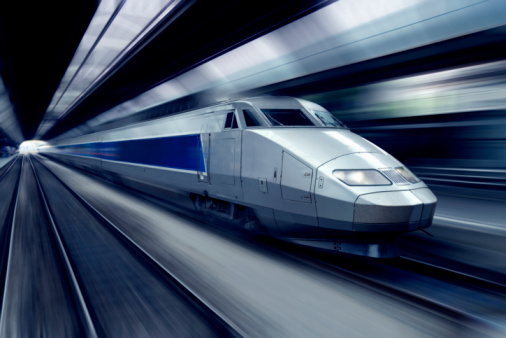 Passenger Train「TGV train at speed (blurred motion)」:スマホ壁紙(18)