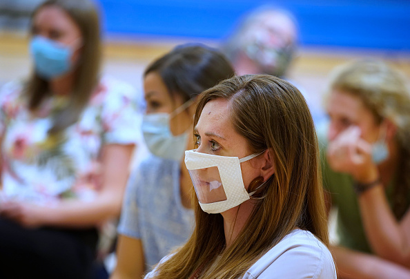 Utah「Provo, Utah School Prepares For School Year Amid CoVID-19 Pandemic」:写真・画像(11)[壁紙.com]