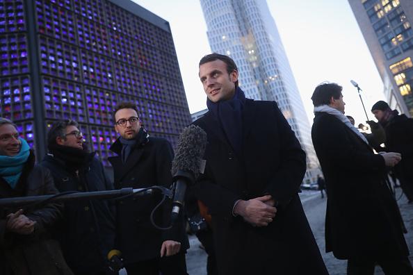 Independent News and Media「Emmanuel Macron Visits Berlin」:写真・画像(10)[壁紙.com]