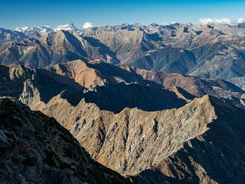 Piedmont - Italy「Mountain range in the Alps.」:スマホ壁紙(15)