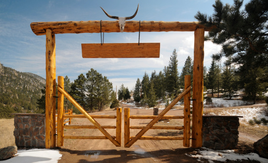 Blank Sign「Mountain Ranch Sign」:スマホ壁紙(16)