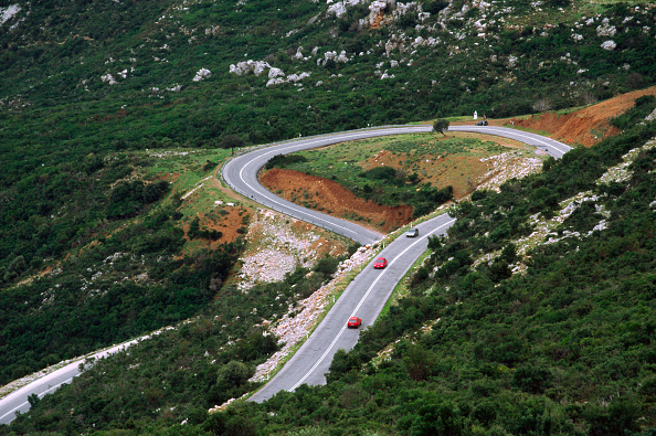 Hairpin Curve「Hairpin bend, Peleponnese road, Argolidha, Greece」:写真・画像(11)[壁紙.com]