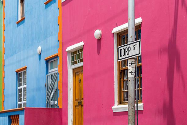 Colorful houses in Bo Kaap:スマホ壁紙(壁紙.com)