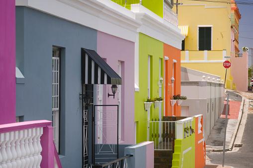 Malay Quarter「Colorful Houses on Street in Bo Kaap」:スマホ壁紙(3)