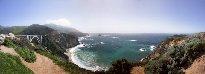 California State Route 1「CaliPano」:スマホ壁紙(9)