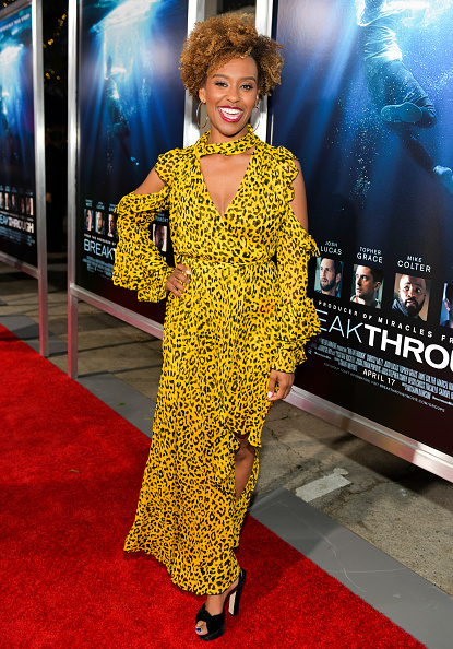 "Yellow Dress「Premiere Of 20th Century Fox's ""Breakthrough"" - Red Carpet」:写真・画像(9)[壁紙.com]"