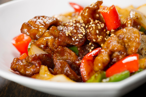 Chinese Food「Sweet and Sour Pork」:スマホ壁紙(13)