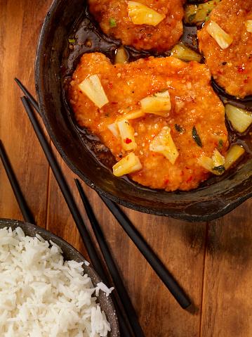 Sweet And Sour Chicken「Sweet and Sour Chicken with Rice」:スマホ壁紙(6)