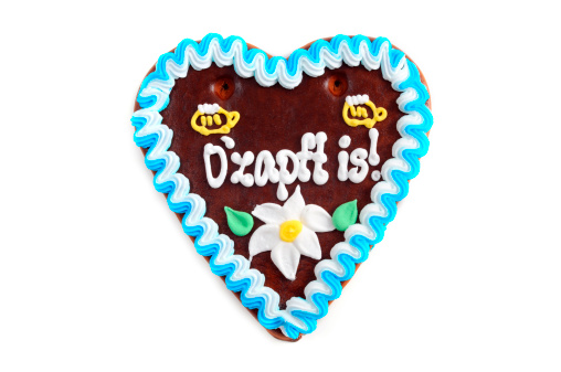 Gingerbread Cookie「Oktoberfest Ozapft is Gingerbread Cookie in heart shape」:スマホ壁紙(16)