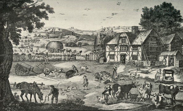 18th Century「Lively Activity On An Eighteenth-Century Farm」:写真・画像(9)[壁紙.com]
