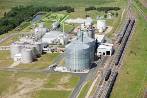Biomass - Renewable Energy Source「Ethanol Biorefinery Aerial View」:スマホ壁紙(16)