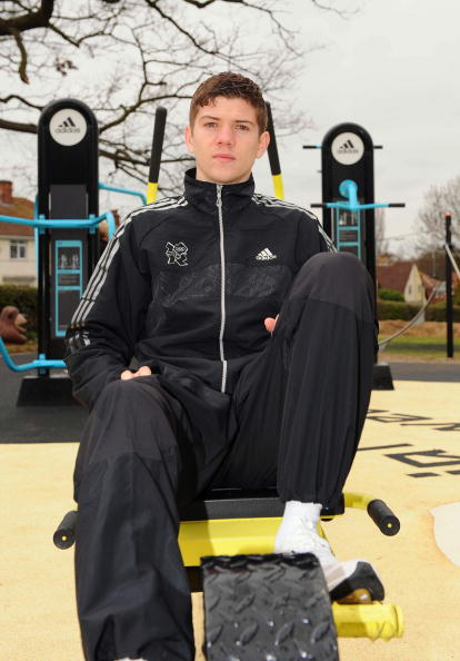 Boxer Luke Campbell「adiZone Launch」:写真・画像(18)[壁紙.com]