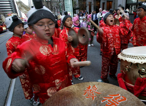 楽器「Chinese New Year Parade Hits Streets Of San Francisco」:写真・画像(17)[壁紙.com]