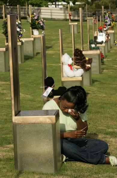 公園「Tenth Anniversary Of Oklahoma City Bombing Observed」:写真・画像(17)[壁紙.com]