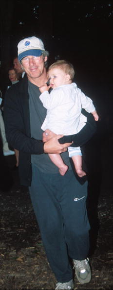 Son「Richard Gere With New Son Homer James Jigme Gere」:写真・画像(16)[壁紙.com]
