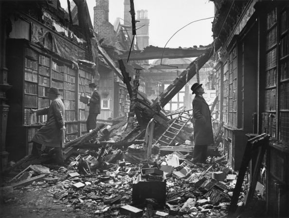 Bomb Damage「Damaged Library」:写真・画像(6)[壁紙.com]