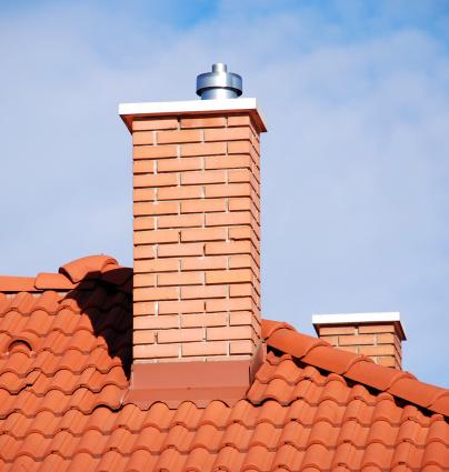 Smoke Stack「smoke stacks on the tiled roof」:スマホ壁紙(12)