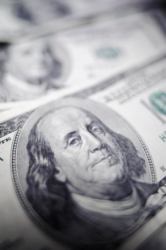 アメリカ通貨「ドルの背景」:スマホ壁紙(10)
