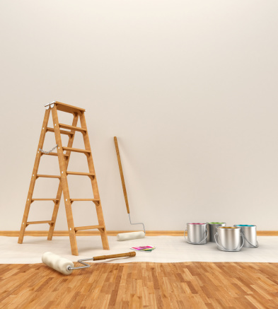 日曜大工「壁の壁画」:スマホ壁紙(10)