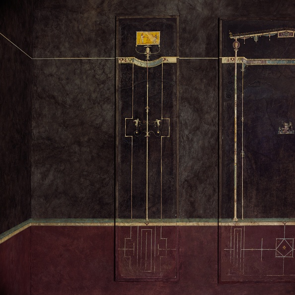 Model Home「Wall Painting On Black Ground: Egyptianizing Scene And Pair Of Swans...」:写真・画像(13)[壁紙.com]