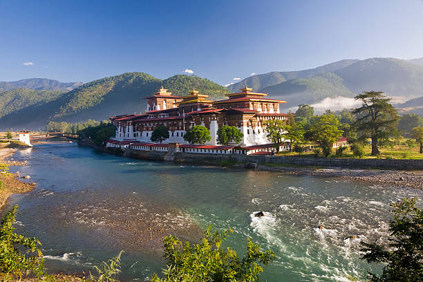 Punakha Dzong, Bhutan:スマホ壁紙(壁紙.com)