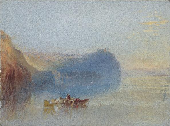 水彩画「Scene On The Loire」:写真・画像(7)[壁紙.com]