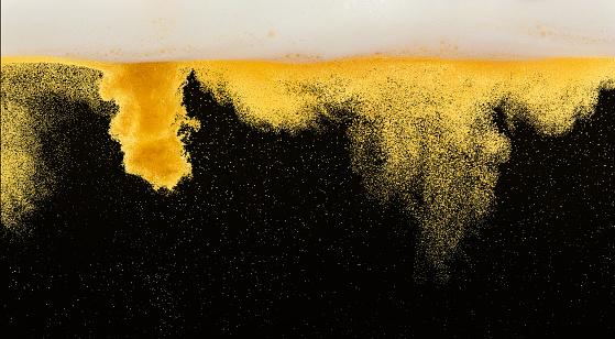 Carbonated drink「Beer molecules」:スマホ壁紙(14)