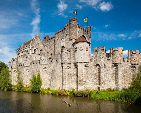 Belgium「Gravensteen castle」:スマホ壁紙(15)