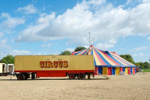 Circus Tent「Circus truck and Big Top」:スマホ壁紙(19)