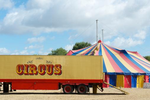 Circus Tent「Circus truck and Big Top tent」:スマホ壁紙(4)