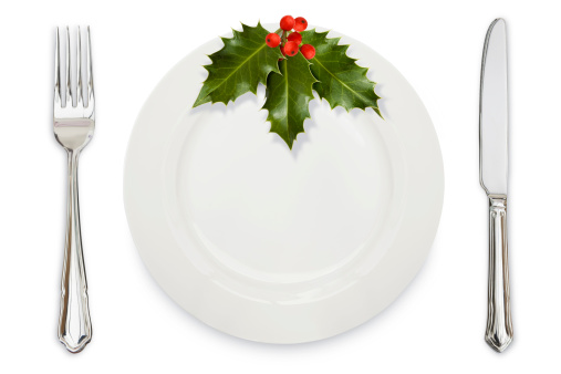 Place Setting「Holly Dinner plate knife and fork」:スマホ壁紙(6)