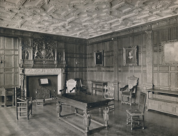 Ceiling「Panelled Room From The Old Palace」:写真・画像(6)[壁紙.com]