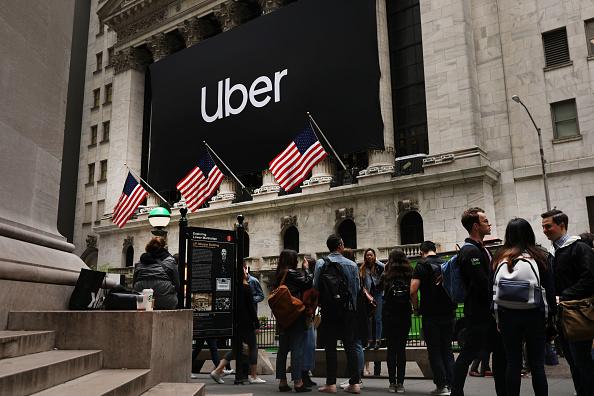 Uber - Brand-Name「Uber Begins First Day Of Trading At New York Stock Exchange」:写真・画像(3)[壁紙.com]