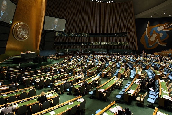 United Nations Building「World Leaders Converge At 62nd U.N. General Assembly」:写真・画像(13)[壁紙.com]