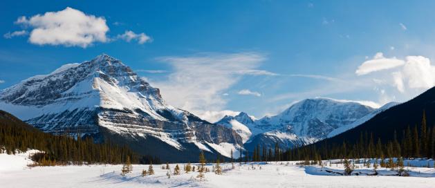 雪山「Canada」:スマホ壁紙(10)