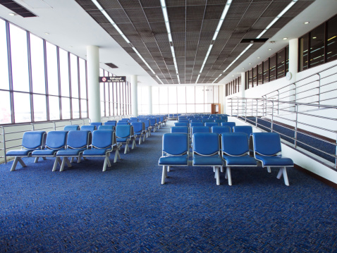 Balustrade「Airport interior」:スマホ壁紙(6)