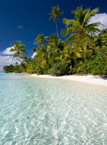 Aitutaki Lagoon「Tropical paradise」:スマホ壁紙(8)