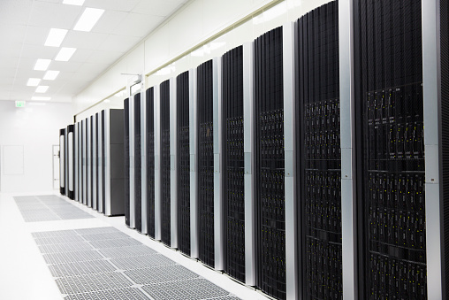 Data「details of a modern server room」:スマホ壁紙(10)