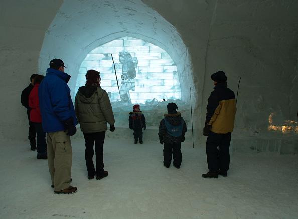 Ice Sculpture「Ice Hotel Quebec-Canada」:写真・画像(14)[壁紙.com]