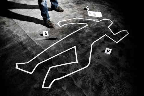 夕焼け 海「Murderer back on the crime scene」:スマホ壁紙(2)