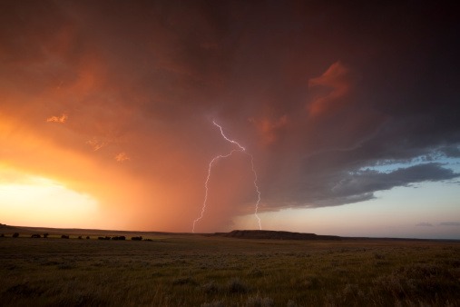 雨「夏の嵐」:スマホ壁紙(1)