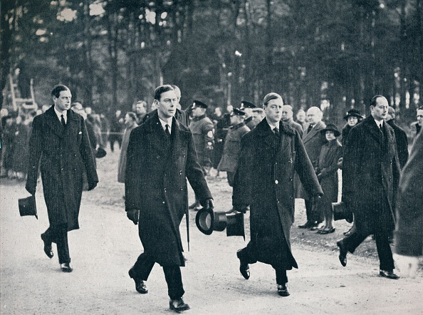 Funeral「King Edward VIII and his three brothers follow the gun carriage」:写真・画像(17)[壁紙.com]
