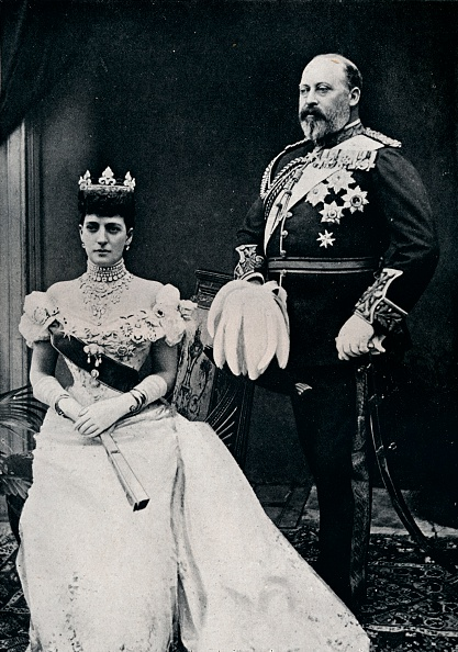 Alexandra Queen「King Edward VII and Queen Alexandra, c1902 (1911)」:写真・画像(1)[壁紙.com]