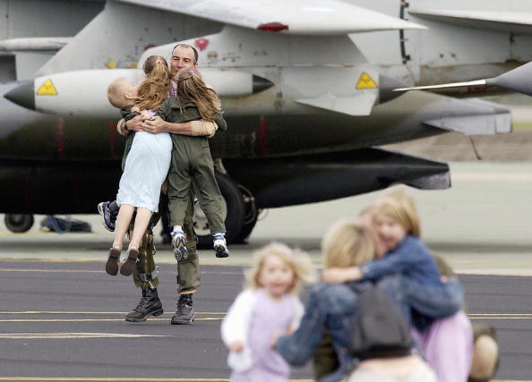 Focus On Background「British Tornadoes Return From Kuwait」:写真・画像(6)[壁紙.com]