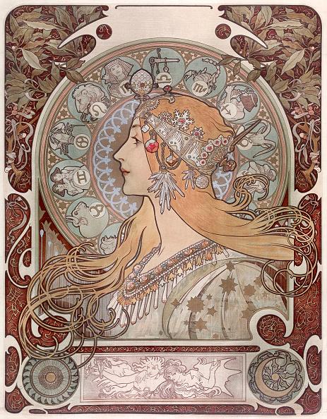 Art Nouveau「Zodiac」:写真・画像(0)[壁紙.com]