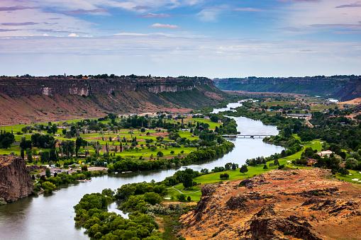 River「Snake River Canyon, Twin Falls, Idaho」:スマホ壁紙(19)
