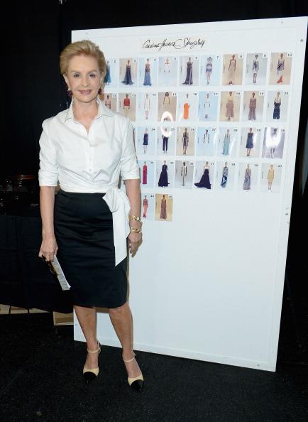 White Shirt「Carolina Herrera - Backstage - Mercedes-Benz Fashion Week Spring 2014」:写真・画像(19)[壁紙.com]