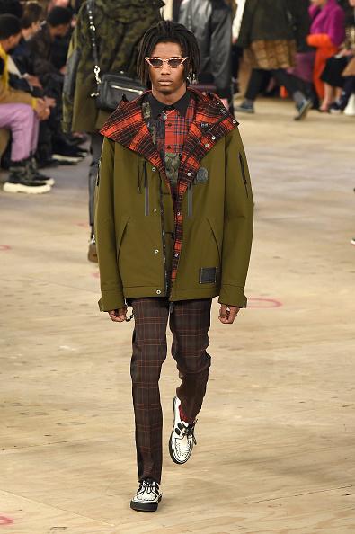 Checked Pants「Coach 1941 - Runway - February 2019 - New York Fashion Week」:写真・画像(11)[壁紙.com]