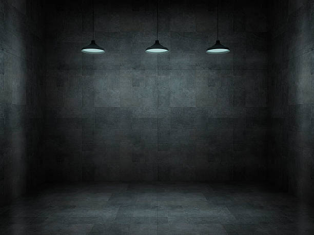 Dark, scar, empty office room:スマホ壁紙(壁紙.com)