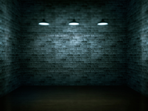 Brick Wall「Dark, scar, empty office room」:スマホ壁紙(16)
